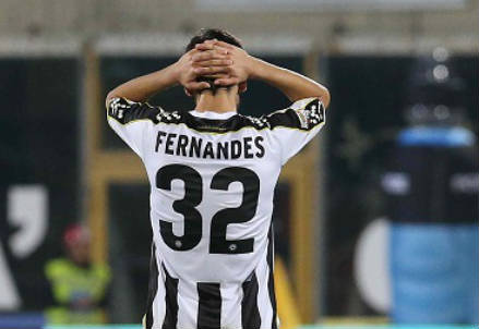 Bruno Fernandes, 19 anni, centrocampista portoghese dell'Udinese (INFOPHOTO)