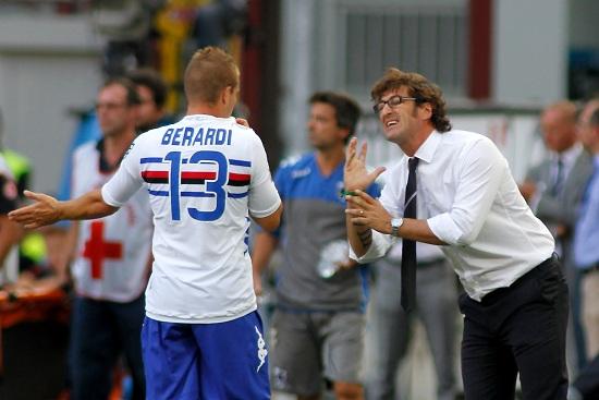 Ciro Ferrara, allenatore della Sampdoria (Foto Infophoto)