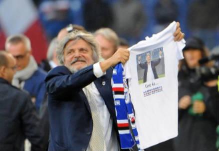 Massimo Ferrero, 63 anni, presidente della Sampdoria (INFOPHOTO)