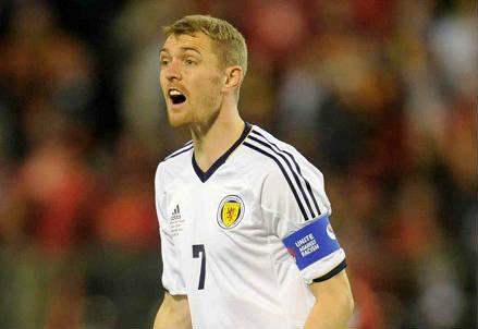 Darren Fletcher, 31 anni, centrocampista scozzese (INFOPHOTO)