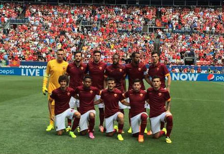 (dall'account Twitter ufficiale @officialASRoma)