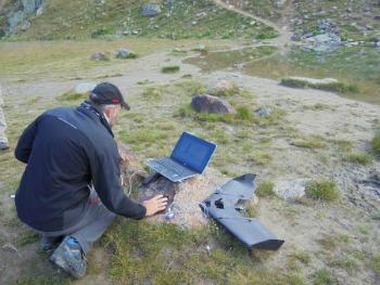 preparazione del Drone