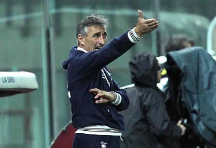 Claudio Foscarini, 56 anni, allenatore della Pro Vercelli (INFOPHOTO)