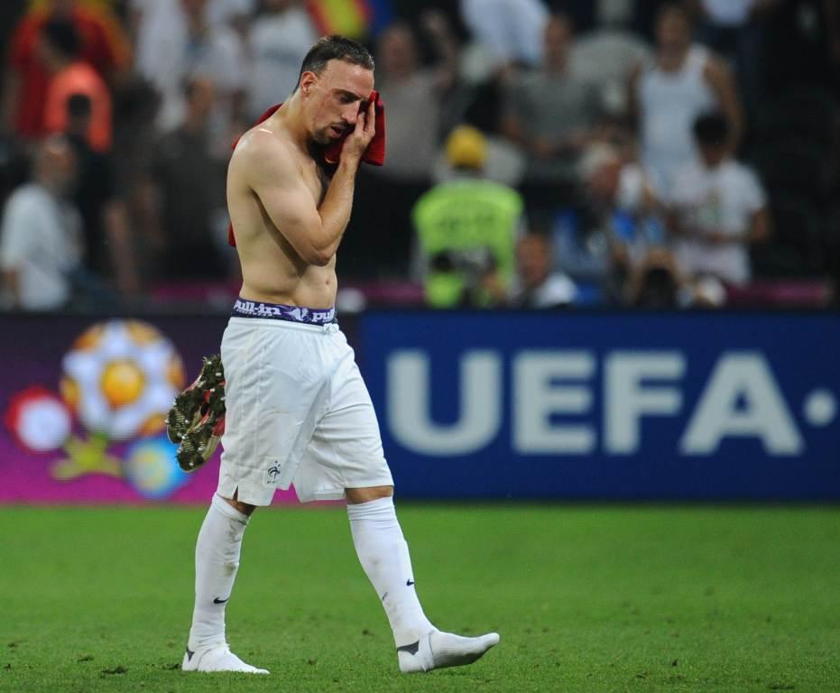 Franck Ribery, 31 anni (Infophoto)