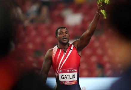 Justin Gatlin, 32 anni (INFOPHOTO)