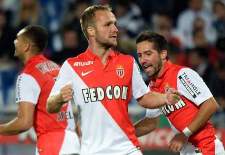 Valere Germain, 24 anni, attaccante del Monaco (dall'account Twitter ufficiale @ChampionsLeague)