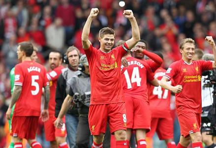 Steven Gerrard, 33 anni, capitano del Liverpool (INFOPHOTO)
