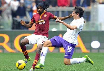 Roma-Fiorentina è uno degli anticipi della prima giornata 2014-2015 (INFOPHOTO)