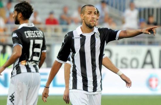 Guillermo Giacomazzi, 35 anni, centrocampista uruguaiano del Siena (INFOPHOTO)