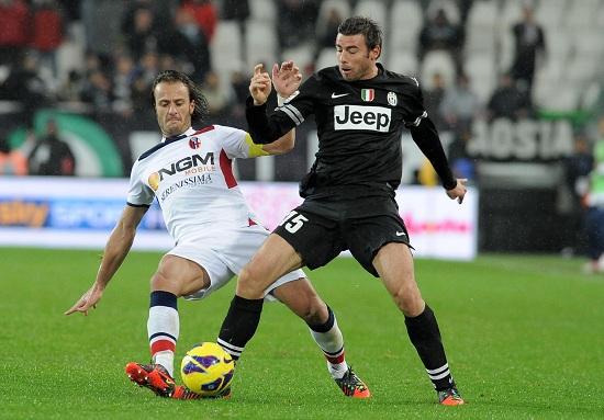 Gilardino e Barzagli nella partita d'andata (Infophoto)