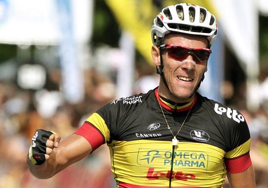 Philippe Gilbert ha già vinto l'Amstel tre volte (Infophoto)