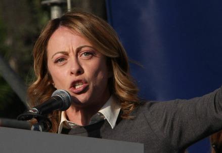 Giorgia Meloni (Infophoto)