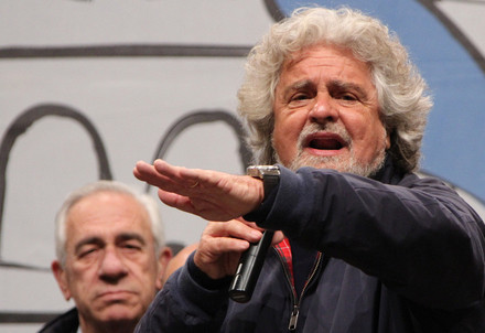 Beppe Grillo (Foto InfoPhoto)