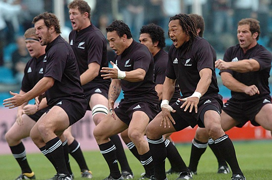 Haka All Blacks (infophoto)