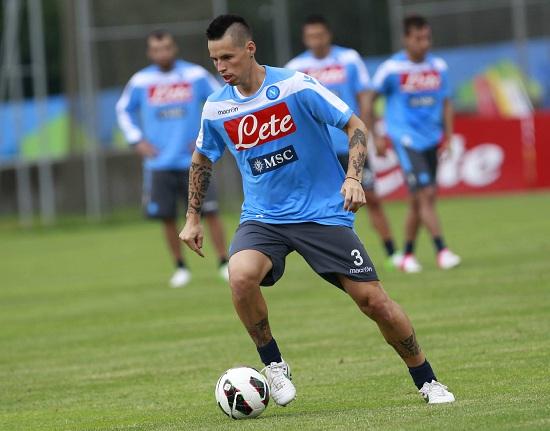 Marek Hamsik, centrocampista Napoli (Infophoto)