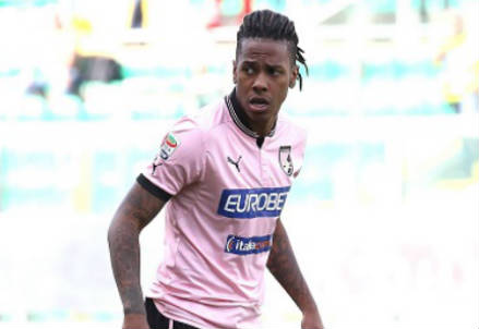 Abel Hernandez, attaccante Palermo (Foto Infophoto)