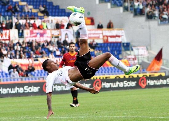 Abel Hernandez, 23 anni, attaccante uruguaiano del Palermo (INFOPHOTO)