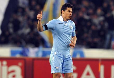 Hernanes, 28 anni, centrocampista brasiliano della Lazio (INFOPHOTO)
