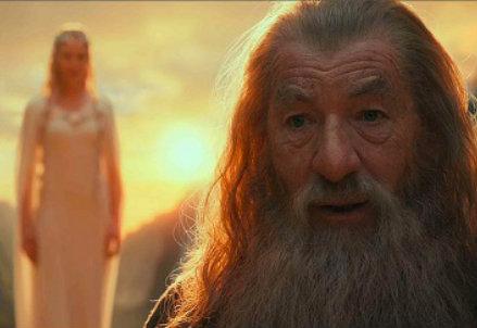 Dal film Lo Hobbit (InfoPhoto)
