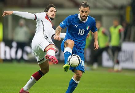 Pablo Daniel Osvaldo, ex-attaccante della Roma (Foto Infophoto)