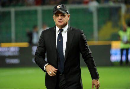 Beppe Iachini, allenatore Palermo e grande ex (Foto Infophoto)
