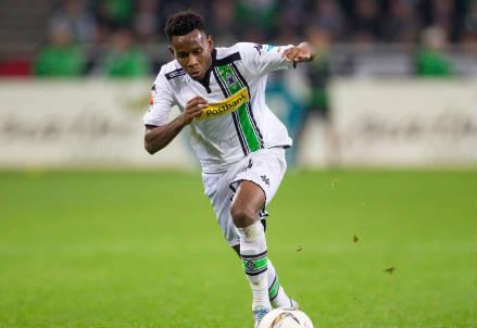 Ibrahima Traoré, 27 anni, guineano, ala del Borussia Monchengladbach (INFOPHOTO)