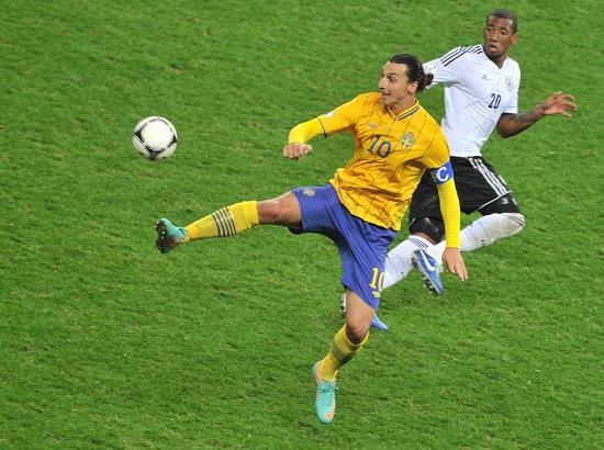 Zlatan Ibrahimovic, 31 anni, attaccante svedese del PSG (INFOPHOTO)