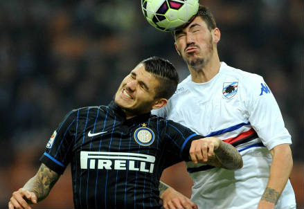 Mauro Icardi, il grande ex contro Romagnoli l'anno scorso (Infophoto)