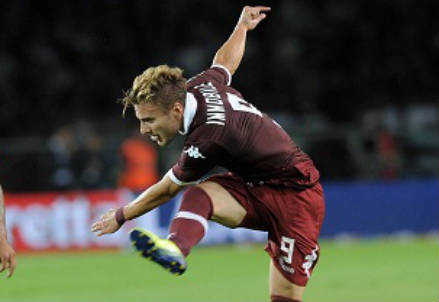 Ciro Immobile, attaccante del Torino (Infophoto)