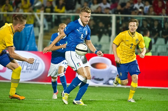 Ciro Immobile, attaccante del Genoa e dell'Under 21 (Infophoto)