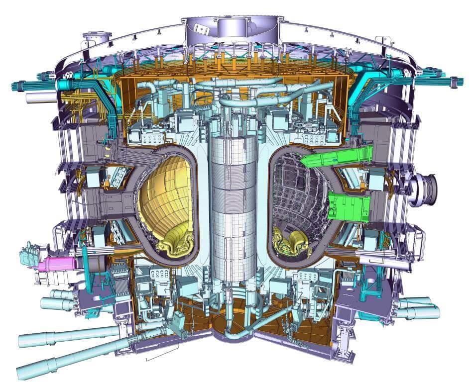 Una immagine di ITER