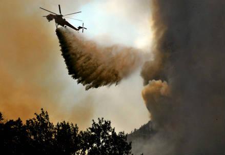 Un incendio (Infophoto)