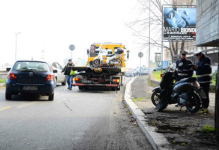 Incidente stradale (Infophoto)