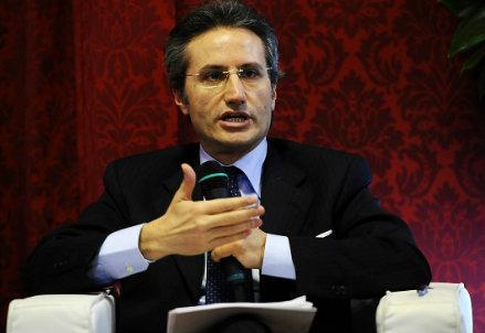 Il presidente della Regione Campania, Stefano Caldoro (Infophoto)
