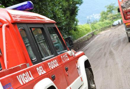 Vigili del fuoco (Infophoto)