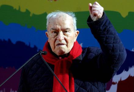 Pietro Ingrao (1915-2015) (Infophoto)