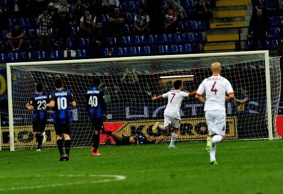 Inter-Roma dello scorso anno (Infophoto)