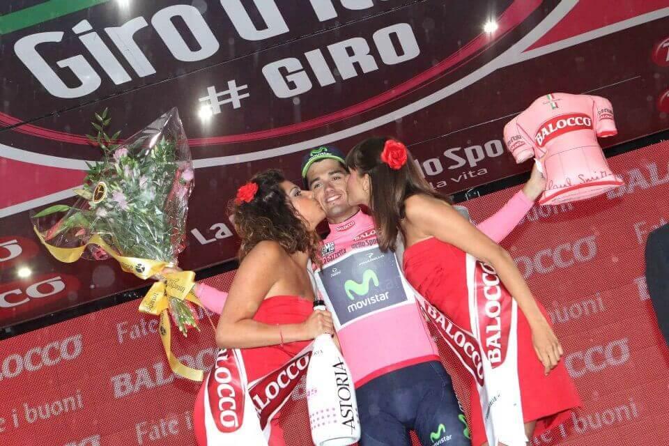 Benat Intxausti in maglia rosa a Pescara: oggi ha vinto la tappa