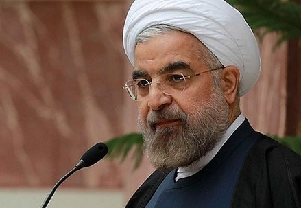 Hassan Rouhani, presidente dell'Iran (Infophoto)