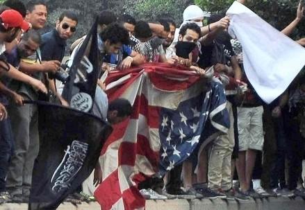 Rabbia antiamericana (Infophoto)