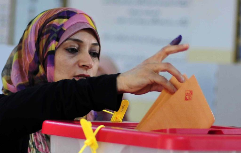 Voting in Libya  (Infophoto)