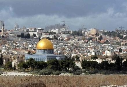 Vista panoramica di Gerusalemme