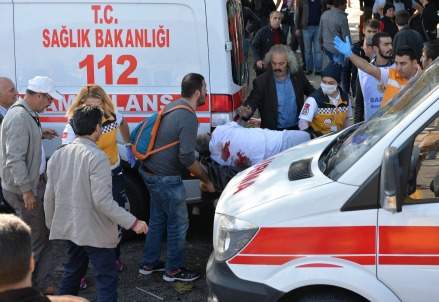 Attentato in Turchia (Foto: Infophoto)