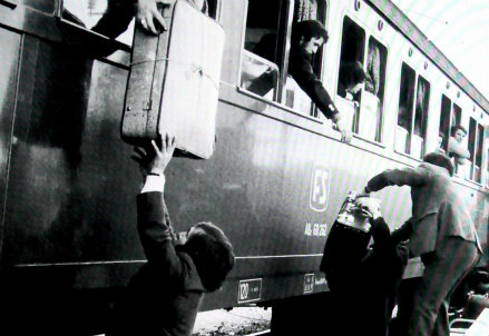 Emigrazione italiana (InfoPhoto)