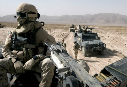 Soldati italiani, foto dal web
