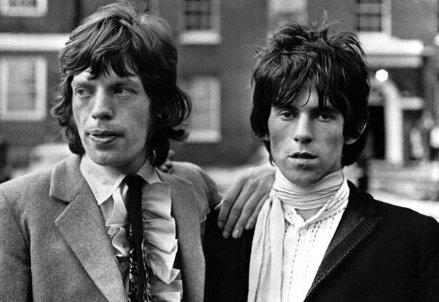 Jagger e Richards, 1971 circa