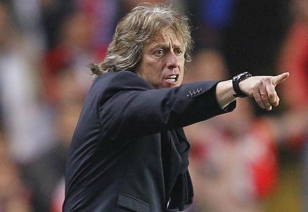 Jorge Jesus, allenatore del Benfica (Infophoto)