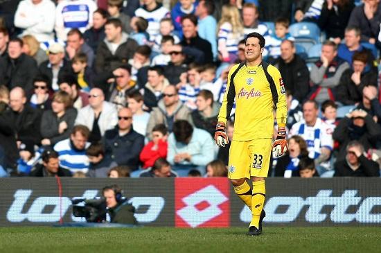 Julio Cesar, portiere del QPR (Infophoto)
