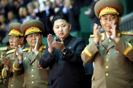 Kim il giovane, foto InfoPhoto