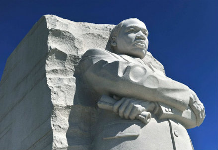Il monumento in memoria di Martin Luther King (InfoPhoto)